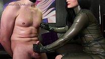 femdom mistress foot worship and nipple