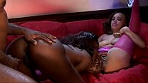 Monet Devine and Nyomi Banxxx