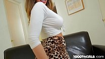 Brooklyn Chase Titty Fucks The FUCK Out Of That...
