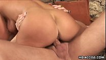 Horny slag Venus gets screwed by two blokes