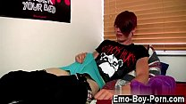 Twinks XXX Gorgeous, floppy-haired and with a pierced lip, Rhys Casey