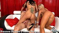 Busty Breanne Benson and Tasha Reign gets fucked