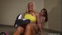 BOZO 42 Megan Avalon lifting Girl