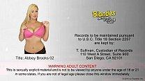 Sexy blonde Abbey Brooks fucking