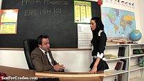 Kinky Teen Fucks Her Teacher In Class!