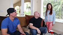 (dfmd14980) friend! daddy's by down dicked gets squirt sally Teen