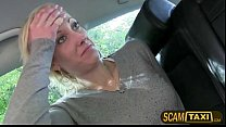 instead head gives and bill taxi the pay cant johana amateur Blonde