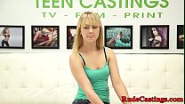 Real teen hardfucked at sexaudition