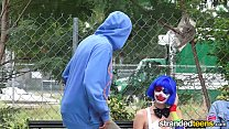 StrandedTeens - Dirty clown gets into some funn...