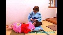 Japanese Asian Kimono Wearing Sluts Have Lesbia...