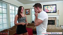 Slim Girlfriend Rilynn Rae Gets Facialized