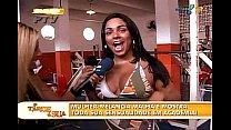 Andressa Soares Mulher Melancia academia biquini A tarde e sua