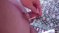 Locking you in chastity for the weekend