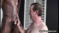 Balck Gay Dude Receive Handjob From White Twink 14