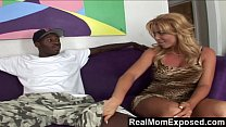 RealMomExposed - Horny milf goes wild for big black dick