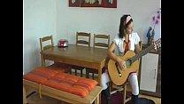 6956098 schoolgirl guitar