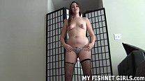 I can make you cum quick with my sexy fishnets JOI