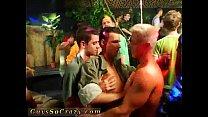 Xxx gay porn boys movie first time Dozens of fellows go bananas for