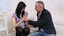 Alla Takes Her Teacher's Cock Very Deep