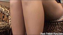 Total findom foot fetish humiliation