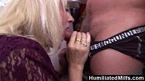 HumiliatedMilfs - Lascivious milf gets her hair...