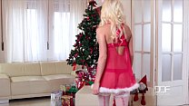 Horny this Holiday - Her Shaved Pussy is your P...