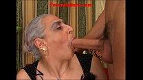 cazzo... scopa nonna - italian cock big hot Granny