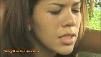 Sexy Rio Teen Carol Anjo Gets Her Anal