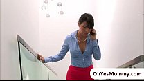 MILF Dana is angry and horny to teens making ou...
