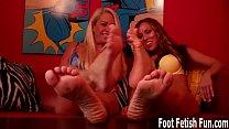 Foot fetish cum countdown JOI