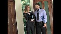 Russian Beauty Secretary Meeting Break Anal