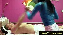 down rub sexy a gives masseur Asian