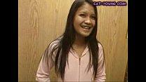 Asian Elevator Masturbation