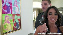 Brazzers - Alexa Aimes - Sneaking in the Back Door