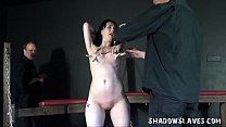 Tough Girl Whipped and Tit Tortured with Fae Co...