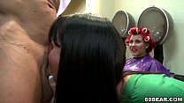 Bachelorette Party In The Hairy Salon