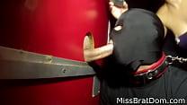 BP138-Gloryhole Fag Slave  Bisexual Encouragement
