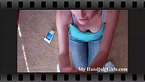 Surprise POV handjob from Macy Cartel