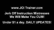 I can make you cum so fast JOI
