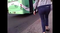 girl... ass candid nyce calle la en nalgas Bonitas