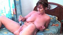 dildos with asshole and pussy her fucks joy Granny