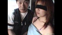 Subtitled extreme Japanese public exposure blin...