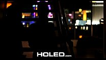 HOLED - Sultry Marley Brinx hot candle wax play...