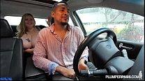 Sexy BBW Mandy Majestic Fucks Uber Driver