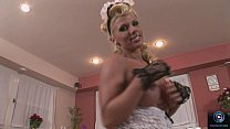 Ginger Jones Is A Sexy Housemaid