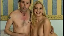 Blonde Receives Anal And Creampi
