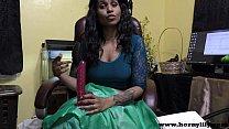 Hindi Sex teacher gives a JOI Indian