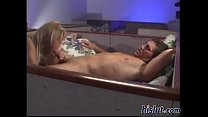 Pulsating manhood penetrates a juicy love tube