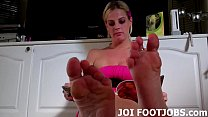 If you pamper my feet I might let you cum JOI