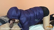 Puffy Jacket Fuck for Big Tit Charlee Chase